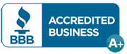 bbb a plus accredited logo